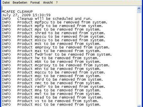 McAfee Consumer Products Removal Tool: Borra todos los productos McAfee por completo