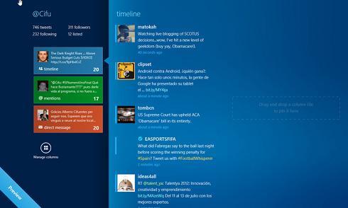 MetroTwit para Windows 8: Herramienta que te permite gestionar tu cuenta de Twetter