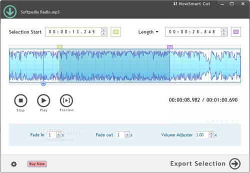 NowSmart Cut: Corta y separa archivos de audio con mucha facilidada