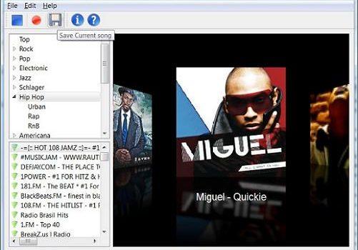 RadioZilla: Programa para descargar canciones directamente de la radio