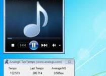 TabTempo: Programa que te muestra el tempo de cualquier archivo de audio
