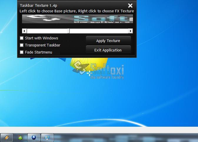 Taskbar Texturizer: Personalizar el aspecto de la Barra de Tareas del Escritorio