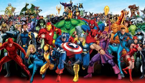 Tema Marvel Comics: Una colección de los mejores fondos de Marvel Comics