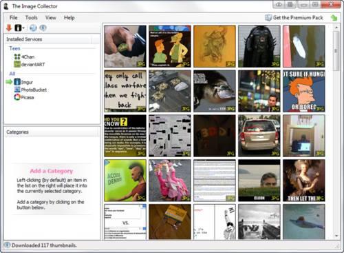 The Image Collector: Descargador de imágenes 4Chan, DeviantART, Imgur, PhotoBucket y Picasa