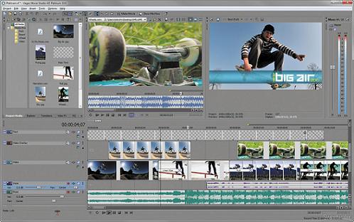 Vegas Movie Studio HD: Programa completo para la creación y edición de películas