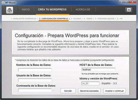 WP Wizard: Asistente para crear tu blog en WordPress en 5 minutos
