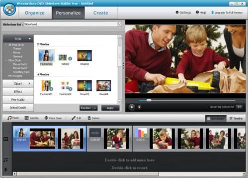 Wondershare DVD Slideshow Builder: Ahora podrás crear películas DVD con tus fotos