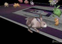 3D Desktop Bunny Rabbits: Disfruta de con conejito muy divertido en tu monitor