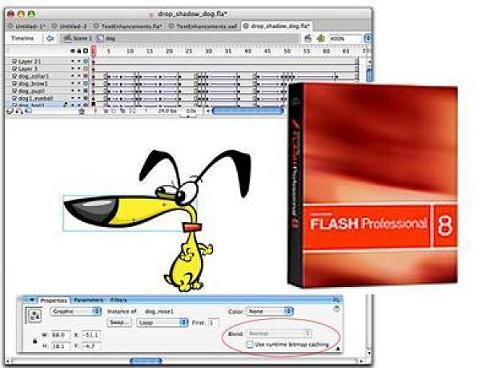 Adobe Flash Professional: Herramienta para crear animaciones y aplicaciones web