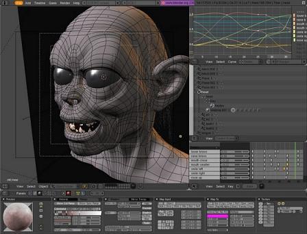 Blender: Programa pack de modelado, animación y renderizado