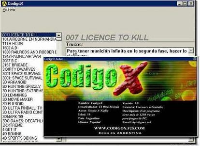CodigoX: Descubre más de 1500 trucos para juegos de PC