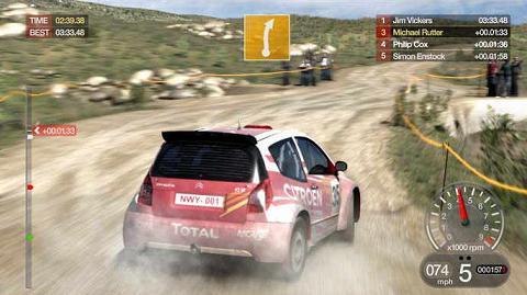 Colin McRae: Descubre tu mismo el mejor juego de Rally