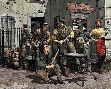 Commando: Mezcla entre una aventura de acción y el juego de plataforma
