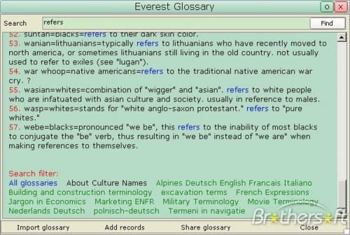 Everest Dictionary: Maneja este diccionario multilingüe gratuito