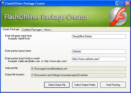 FlashOffliner: Organiza tus juegos Flash favoritos para jugar sin conexión
