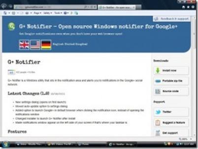 G+ Notifier: Entérate de todo lo que pasucede en tu perfil de Google Plus