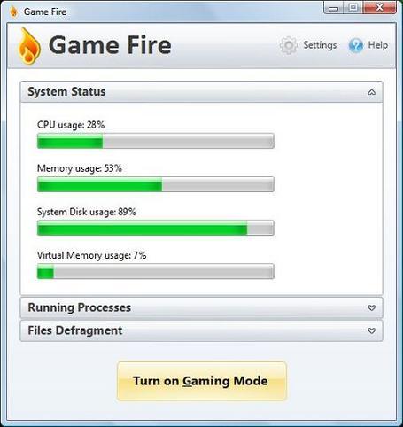 Game Fire: Libera recursos para que tus juegos se ejecuten con mayor velocidad