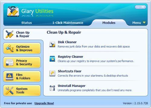 Glary Utilities Portable: utiliza este Kit de herramientas portable para el mantenimiento de tu PC