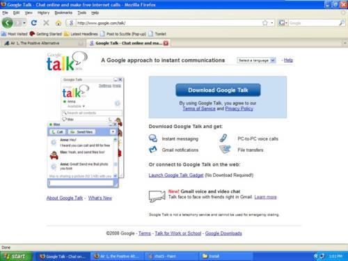 Google Talk: Lleva el chat de Google a una ventana propia