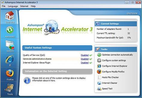 Internet Accelerator: Herramienta que acelera conexiones de Internet al instante