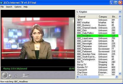 JLC's Internet TV: Mira gratis más de mil canales de televisión