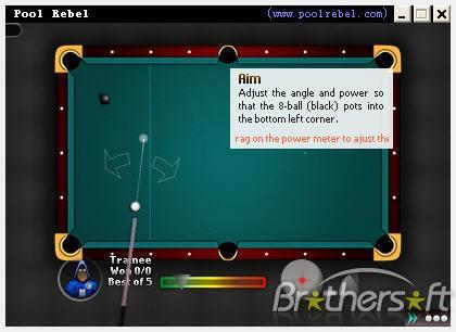 Pool Rebel: Juega billar en linea con personas de otro país
