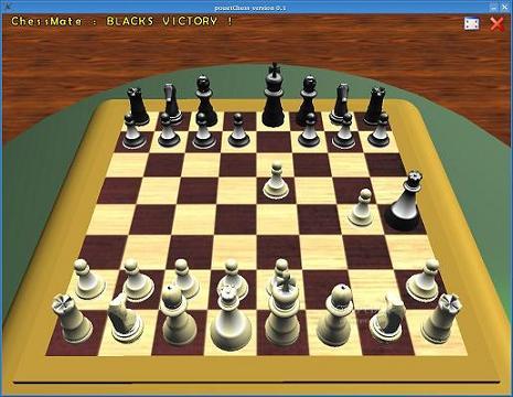 PouetChess: Ajedrez en 3D para uno o dos jugadores y sea cual sea tu nivel
