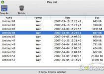 RecordPad: Sorprendente y graba a WAV y MP3 cualquier fuente de audio