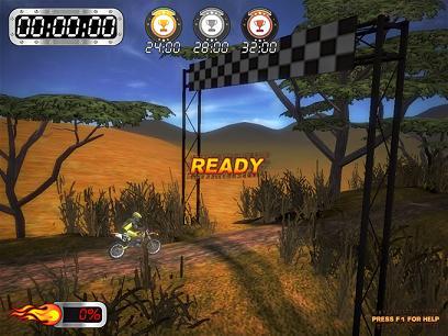 Super Motocross Africa: Compite en una carrera por todo África
