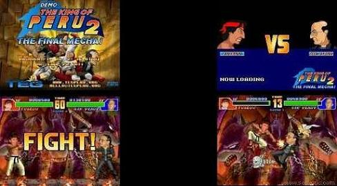 The King Of Peru 2: Golpes y sangre a raudales para uno o dos jugadores