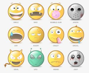 Underart Avatars: Pack con doce avatares para Messenger