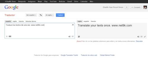 traducto de google