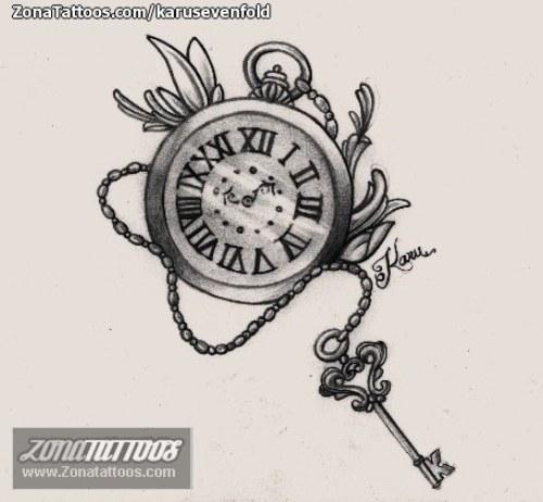 Tatuaje De Reloj Net9k