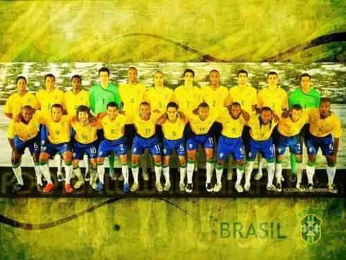 Brazil Team Wallpaper: Disfruta de las mejores fotos de la selección de Brasil