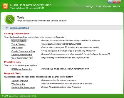 Conoce Quick Heal Internet Security 2012, nuevo antivirus potente