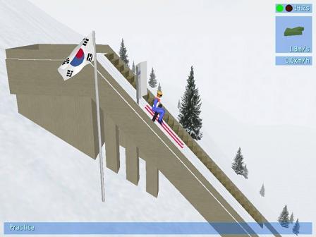 Deluxe Ski Jump 3: Juega a toda velocidad sobre la pista de esquí
