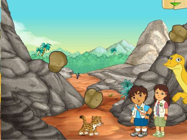 Diego's Dinosaur Adventure: Juego que te permite reunir huesos de dinosaurio