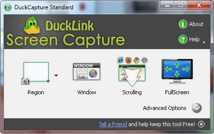 DuckLink: Captura pantallas de manera sencilla