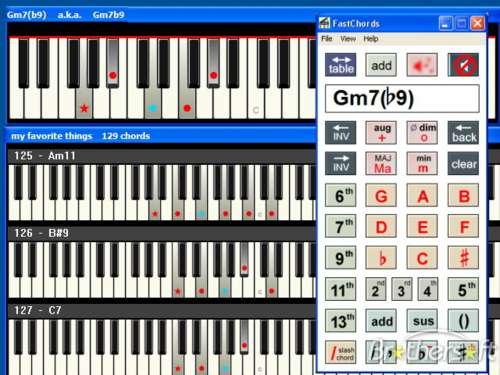 FastChords: Mira y aprende cómo se toca cada acorde al piano