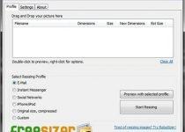 FreeSizer: Cambia masivamente el tamaño de tus fotos desde tu USB