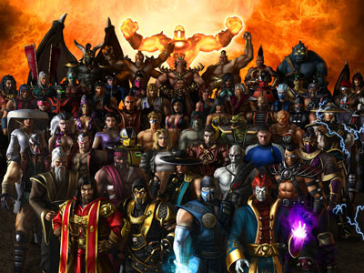 Fondo de todos los personajes de Mortal Kombat