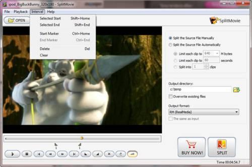 Movavi SplitMovie: Corta y convierte vídeos a tu antojo y con facilidad