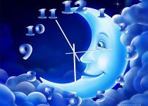 NewFreeScreensaver Moon Clock