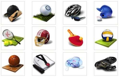 Olympic Icons: Iconos deportivos para tu uso