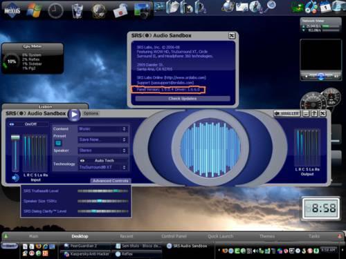 SRS Audio Sandbox: Saca calidad de sonido de donde no la hay