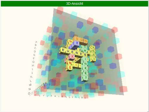 Scrabble3D: Diviértete con las palabras en 3D
