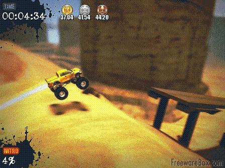 Ultra Monster Truck Trial: Sorprendente juego con un carro un 4x4