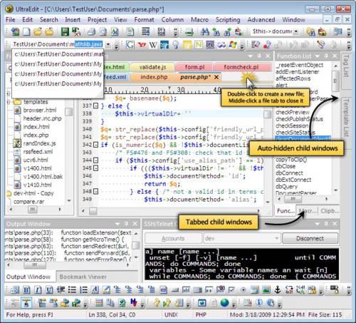 UltraEdit: Programar en cualquier lenguaje con este potente editor de texto