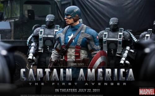 Wallpaper Capitán América: El primer vengador