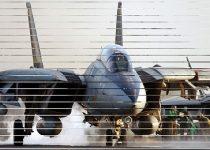 Aviones F-14 como protector de pantalla